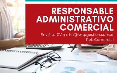 Responsable Administrativo Comercial