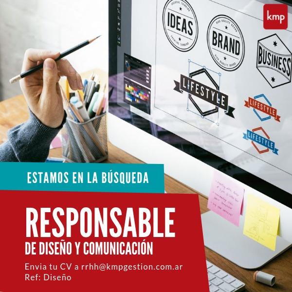 Responsable de Diseño y Comunicación