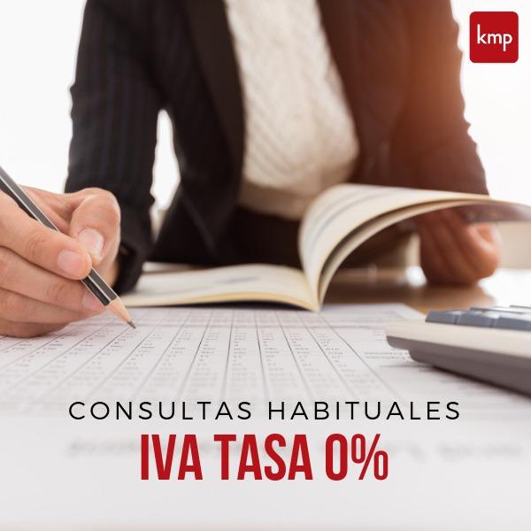 """Consultas más habituales sobre la aplicación de la nueva medida económica """"IVA Tasa 0%"""""""
