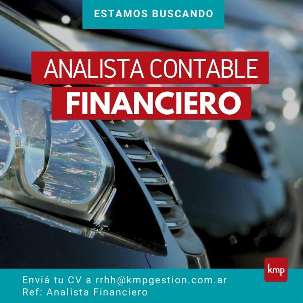 Analista Contable/Financiero