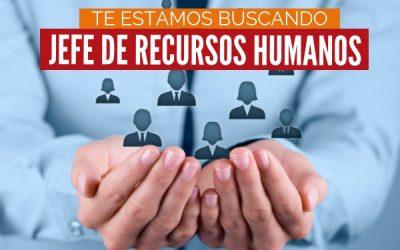 Jefe de Recursos Humanos
