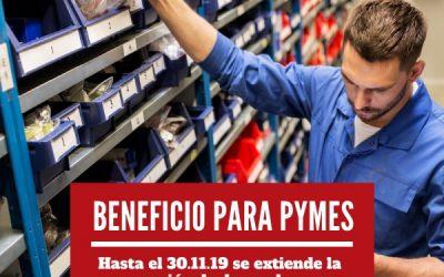Beneficio para Pymes