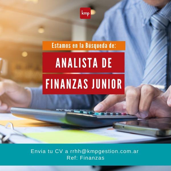 Analista Junior Finanzas