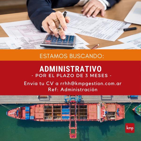 Administrativo/Contable (Temporario)