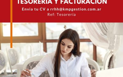 Administrativo Tesorería y Facturación