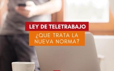 Ley 27.555 – Régimen Legal del Contrato de Teletrabajo