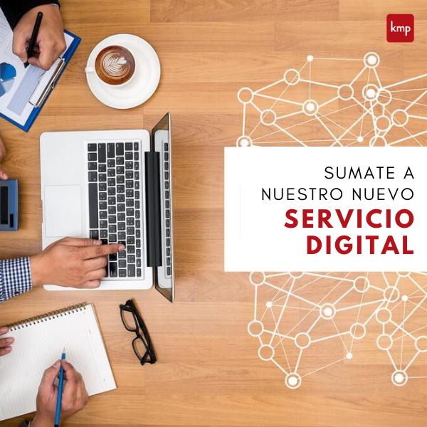 Sumate a nuestro nuevo Servicio Digital