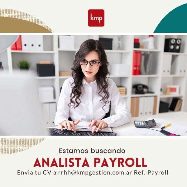 Analista Payroll