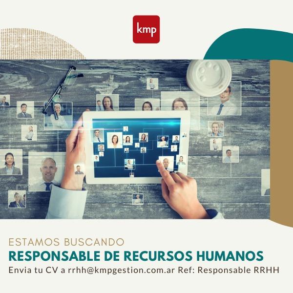 Responsable de Recursos Humanos
