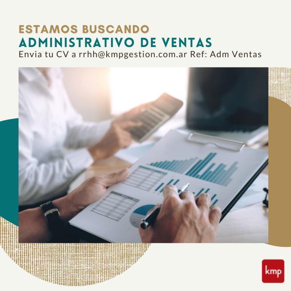 Administrativo de Ventas