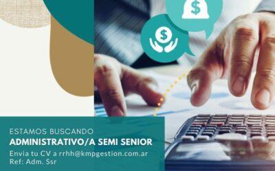 Administrativo/a Semi Senior