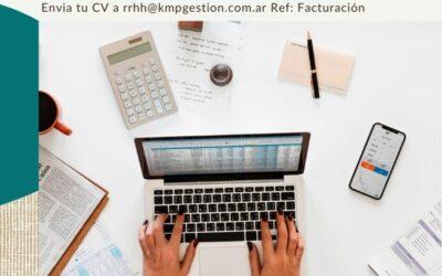 Administrativo/a Facturación y Cobranza (Part-time)